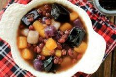 红豆仙草芋圆的做法