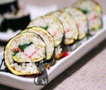 【紫菜包饭的做法】紫菜包饭和寿司的区别_紫菜包饭怎么做