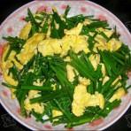 笨蛋炒韭菜苔的做法