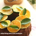 青橘巧克力蛋糕的做法
