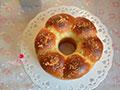 红豆沙酥粒面包的做法