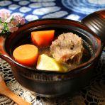 青红萝卜牛肉汤的做法
