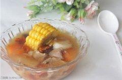 山药玉米廋肉汤做法消夏药膳