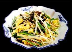 木须粉丝圆白菜的做法视频