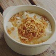 蛋酥甜味豆腐脑的做法