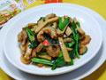 韭菜开洋炒香干的做法