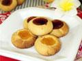 奶香果酱酥饼的做法