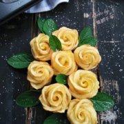 苹果玫瑰花的做法