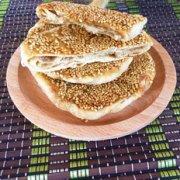 平底锅五香麻酱饼的做法