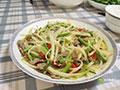 芹菜炒土豆丝的做法