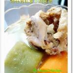 青红萝卜鸡架汤的做法