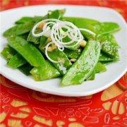 【蒜蓉荷兰豆的做法】蒜蓉荷兰豆好吃的秘诀_蒜蓉荷兰豆的食用功效