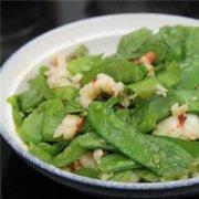 【荷兰豆炒虾仁】荷兰豆炒虾仁的做法_荷兰豆炒虾仁的营养价值