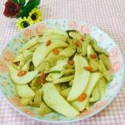 杏鲍菇炒瘦肉的做法