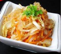 白菜海蜇皮的做法视频