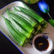 幼儿学龄食谱白灼秋葵的做法