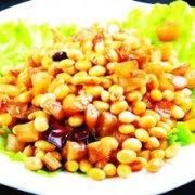 萝卜干拌黄豆的做法