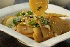 香辣拌土豆片的家常做法