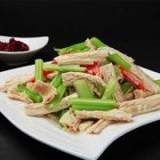 腐竹拌芹菜的做法