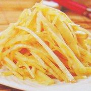 醋炒红薯丝的做法