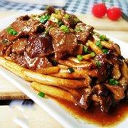 茶树菇炒牛肉的做法