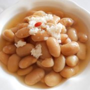 酒酿黄豆的做法