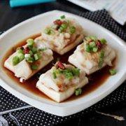 蒸鱼肉豆腐的做法