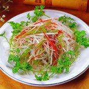 银芽白菜的做法