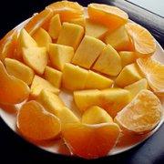荔橘苹果的做法