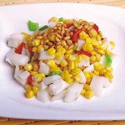 松仁山药炒玉米的做法