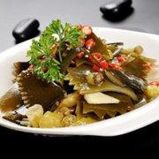 酸辣海带茎的做法