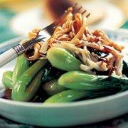 小油菜金针菇沙拉的做法