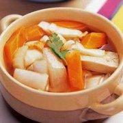 南瓜煮萝卜糕的做法