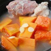 木瓜炖羊肉的做法