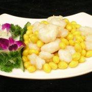 黄豆芥蓝炒虾仁的做法