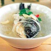 萝卜丝煮鳜鱼的做法