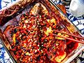 香辣豆豉烤全鱼的做法