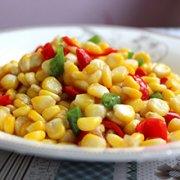 香油玉米的做法