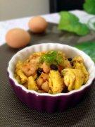 豉香虾仁炒蛋的做法