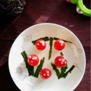 番茄蛋蛋小蘑菇的做法
