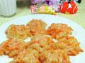 胡萝卜椰丝面疙瘩的做法