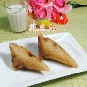 花生米葡萄干糯米粽的做法