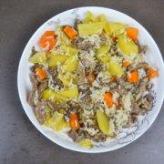 土豆牛肉饭的做法