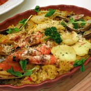 海鲜炖饭的做法
