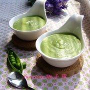 奶香豌豆泥的做法