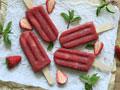 红酒草莓冰棒的做法