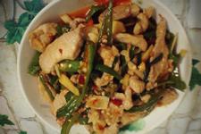 青椒炒肉的做法视频