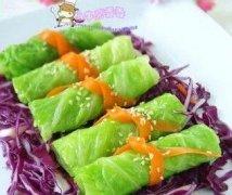 锦带包菜卷的做法视频