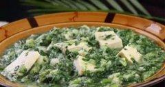 小白菜烩豆腐的做法视频