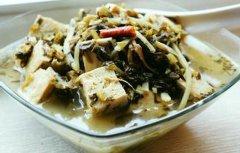 酸菜炖老豆腐的做法视频